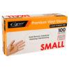 Capri vinyl powder free gloves