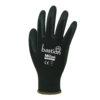 Bastion Milan 13 Black Nylon Glove Large size 9 120 packs 12