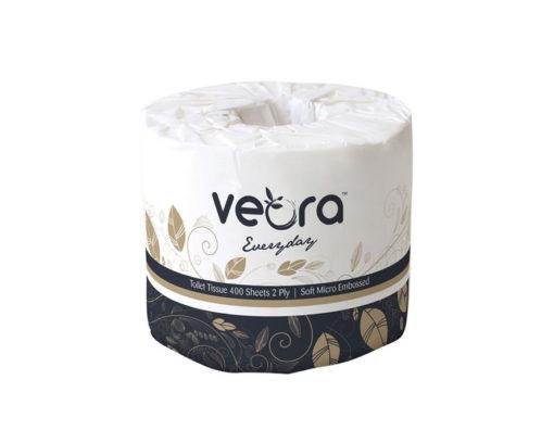 Veora Everyday Micro Embossed Toilet Tissue 2-Ply