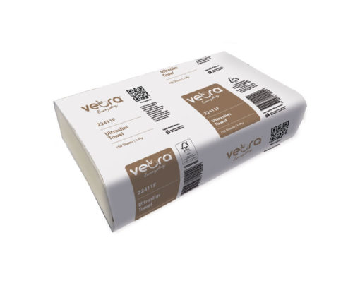 Veora Everyday Ultraslim Towel 1-Ply