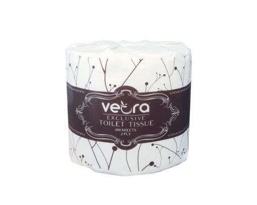 Veora Exclusive Luxury Toilet Tissue 2-Ply carton