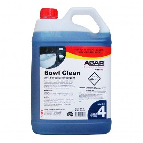 Agar Bowl Clean 5L