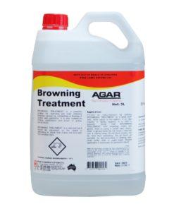 Agar Browning Treatment