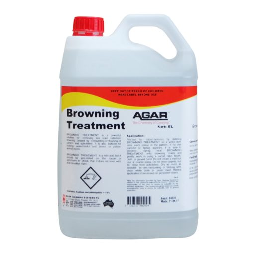 Agar Browning Treatment