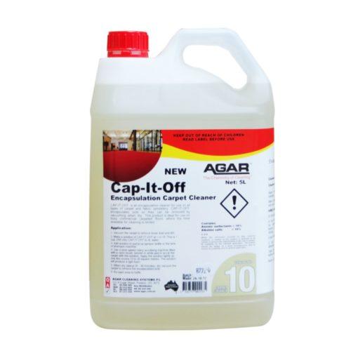 Agar Cap it Off Carpet Cleaner 5L