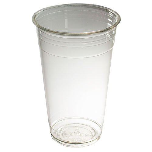 Capri clear plastic cups