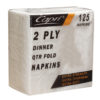Capri white dinner napkins