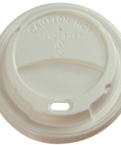 Capri foam sipper lid 12oz