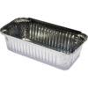 Capri foil container rectangle large 30oz