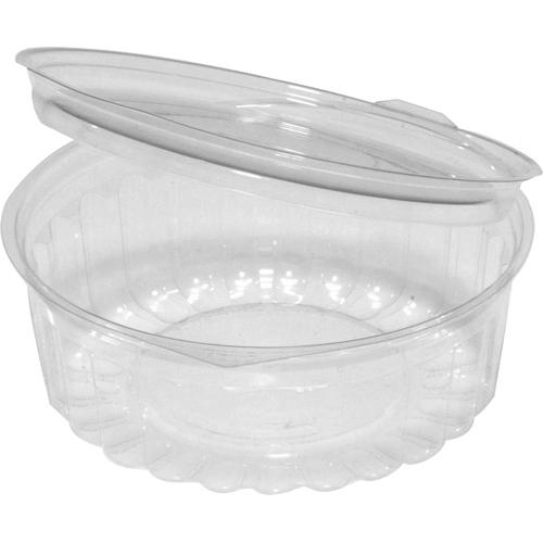 Capri show bowl 8oz clear plastic