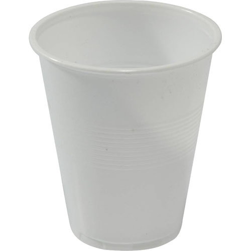 Capri white plastic cups 7oz