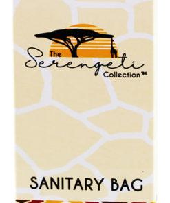 Sanitary Bag - Hotel Amenities (Serengeti Collection)