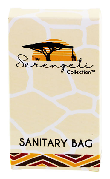 Sanitary Bag - Hotel Amenities (Serengeti Collection)