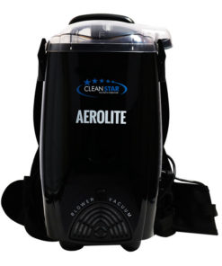 Cleanstar Aerolite 1400 Watt Backpack Vacuum and Blower Black