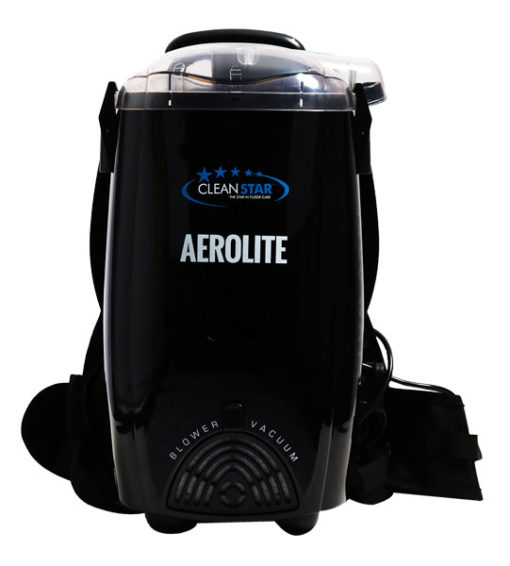 Cleanstar Aerolite 1400 Watt Backpack Vacuum and Blower Black