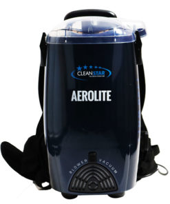 Cleanstar Aerolite 1400 Watt Backpack Vacuum and Blower Blue