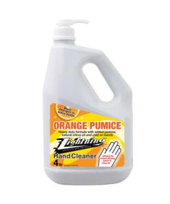 orange pumice hand cream