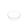 Round clear plastic containers 220ml 10x50 carton