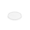 Round clear plastic lids 280-600ml 50 per sleeve