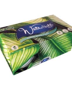 WhiteSilk Classic White & Soft Facial Tissue 2-Ply