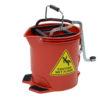Edco 15 Litre Wringer Bucket Red