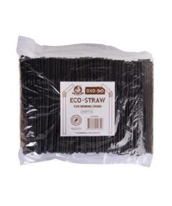 Eco straw black
