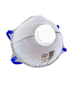 Carbon respirator mask